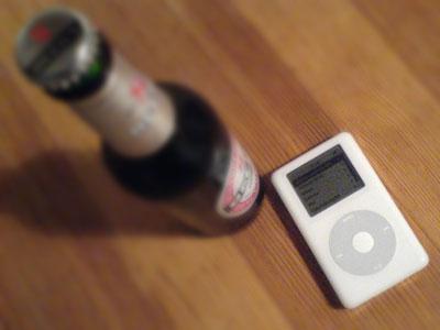 ipod bier